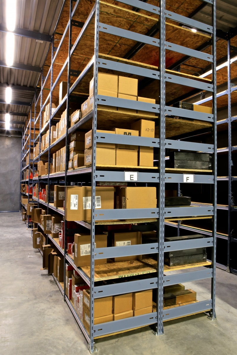 ... From A Need For A Parts Room Shelving, To Heavy Duty Shelves, To  Multi Tier Catwalk Shelving And To Pick Module Integration. We Know  Industrial Shelving ...